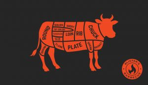 Blister's BBQ divvies up the cow for you.